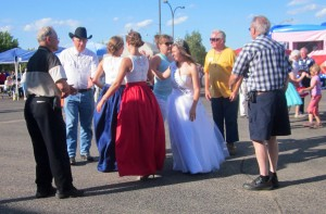 "Square dancing with local ""Royalty!"""